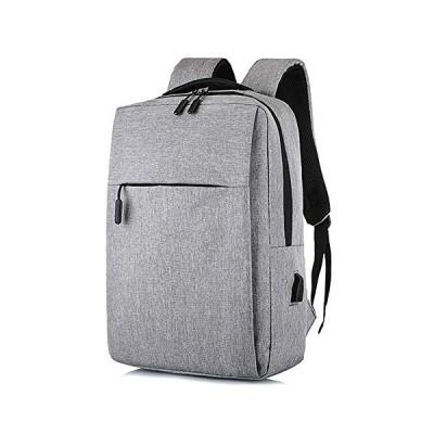 【BINGUO】ビジネスリュック 防水 USB充電ポート付き リュックサック ラップトップバックパック多機能 通勤 通学