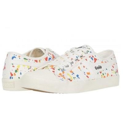 Gola ゴラ レディース 女性用 シューズ 靴 スニーカー 運動靴 Coaster Splatter - Off White/Multi