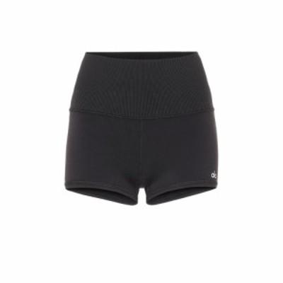アローヨガ Alo Yoga レディース ショートパンツ ボトムス・パンツ Airbrush shorts Black