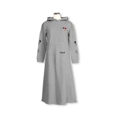【BABYDOLL】親子お揃い ディズニー フード付きマキシワンピース 3002A (ワンピース)Dress
