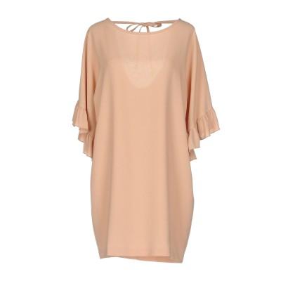 SOALLURE ミニワンピース&ドレス ローズピンク 44 ポリエステル 96% / ポリウレタン 4% ミニワンピース&ドレス