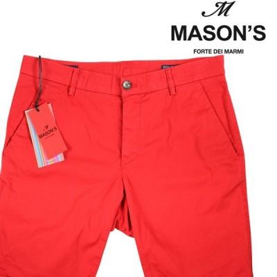 【48】 MASON'S メイソンズ ハーフパンツ メンズ 春夏 レッド 赤 並行輸入品 ズボン