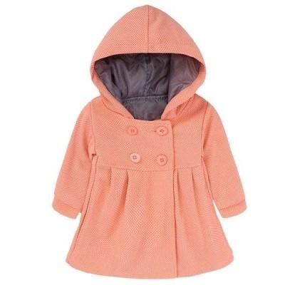 子供服 コート 女の子 韓国子供服 冬 アウター キッズ 可愛い おしゃれ フード付き ピンク ジャケット