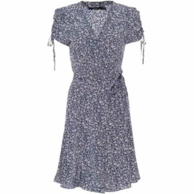 ラルフ ローレン Polo Ralph Lauren レディース ワンピース ワンピース・ドレス Floral minidress White Blue