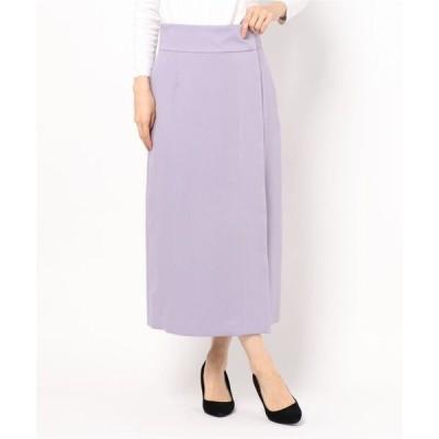 スカート VIS/PEサテンラップスカート