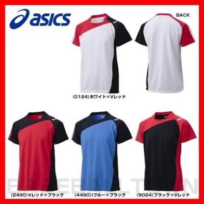 アシックス バレーボール ゲームシャツHS 半袖 XW1321