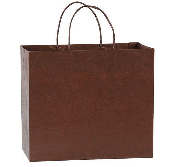 29x25x13cm紙袋300個‧反摺貼紙繩-【Fruit Shop】