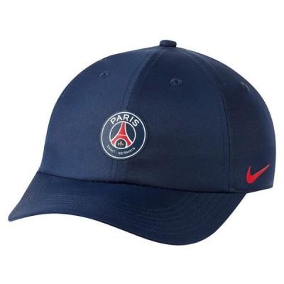 NIKE x PARIS SAINT-GERMAIN PSG ナイキ×パリ サン-ジェルマン H86 CAP CU7618 410 メンズ レディース キャップ 帽子 コラボ ミッドナイトネイビー ロゴ ユ