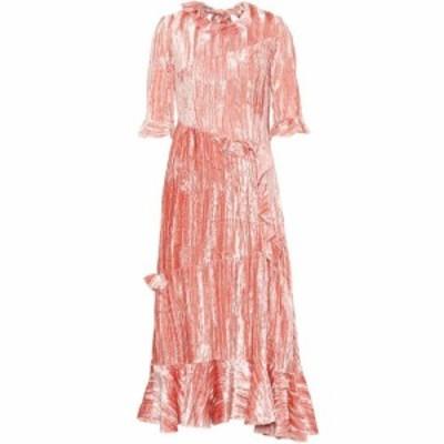 レジーナ ピヨ Rejina Pyo レディース ワンピース ワンピース・ドレス Alina velvet dress Pink Velvet
