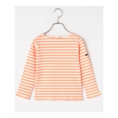 【b-ROOM】ボートネックボーダーテレコTシャツ