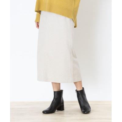 Abahouse Devinette / ecru カルゼジャージータイトスカート WOMEN スカート > スカート