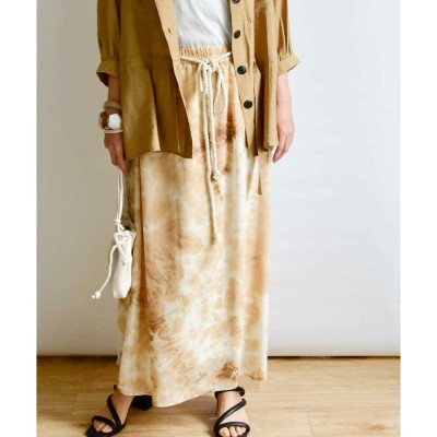 アルゴトウキョウ ARGO TOKYO Printed skirt 222043 (ベージュ(タイダイ))