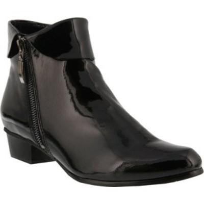 スプリングステップ レディース ブーツ&レインブーツ シューズ Stockholm Black Patent Leather