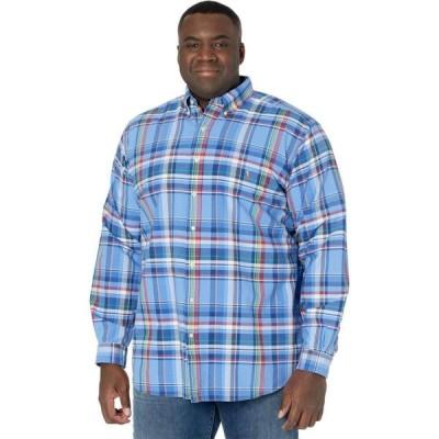 ラルフ ローレン Polo Ralph Lauren Big & Tall メンズ シャツ 大きいサイズ ワイシャツ トップス Big & Tall Plaid Oxford Shirt Blue/Red Multi