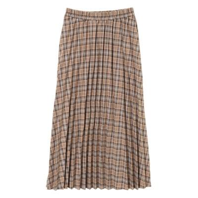 【Chou Chou】チェック柄プリーツスカート
