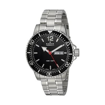 Edoxメンズ' chronorally-s ' QuartzステンレススチールSport Watch, Color : silver-toned (モデル: 84300?3?M NBN) 海外取寄せ商品