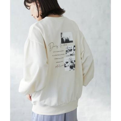 tシャツ Tシャツ ・RAY CASSIN FAVORI フォトptウラケプルオーバー*★