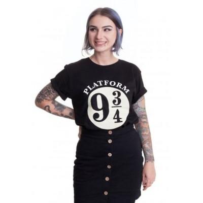 インペリコン Impericon レディース Tシャツ トップス - Hogwarts Express 9 3/4 - T-Shirt black