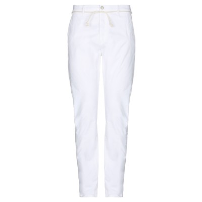 グレイ ダニエレ アレッサンドリーニ GREY DANIELE ALESSANDRINI パンツ ホワイト 33 コットン 98% / ポリウレタン