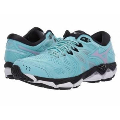 Mizuno ミズノ レディース 女性用 シューズ 靴 スニーカー 運動靴 Wave Horizon 3 Angel Blue/Lavender Frost【送料無料】