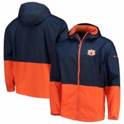 Columbia コロンビア スポーツ用品  Columbia Auburn Tigers Navy Collegiate Roan Mountain Jacket