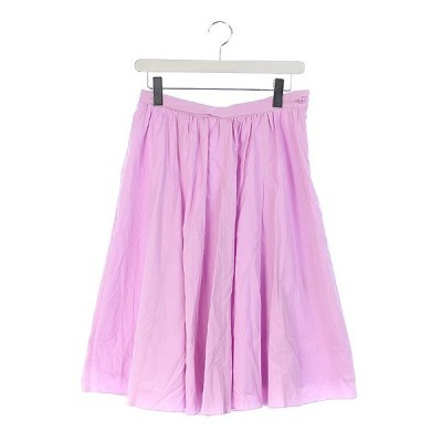 イエナ スローブ IENA SLOBE スカート ギャザー ロング 40 ピンク /MN ● レディース【中古】【ベクトル 古着】