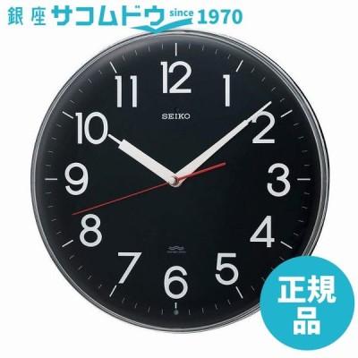 SEIKO CLOCK セイコー クロック 掛け時計 電波 アナログ 黒 KX301K