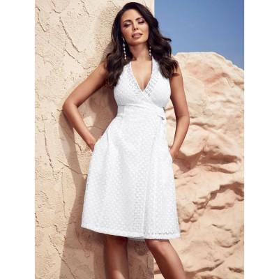 ゲス GUESS Tarida Dress (TRUE WHITE)
