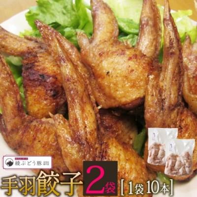 36-138_手羽餃子1袋10本×2袋(ぶどう豚使用)