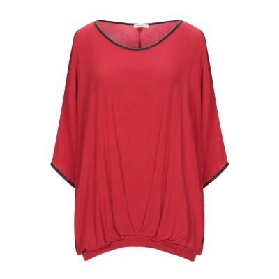 FRACOMINA T シャツ レッド S レーヨン 95% / ポリウレタン 5% T シャツ