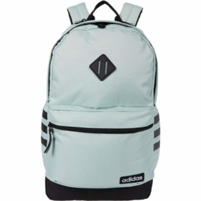 アディダス adidas レディース バックパック・リュック バッグ Classic 3S III Backpack Green Tint/Black