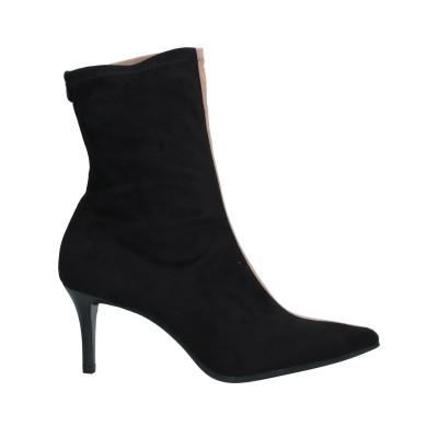 PEDRO MIRALLES ショートブーツ ブラック 39 紡績繊維 ショートブーツ