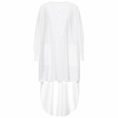 ゴールデン グース Golden Goose レディース ワンピース ワンピース・ドレス Asymmetric cotton dress white