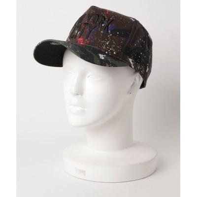OVERRIDE / 【NEW ERA】[別注]D-FRAME NY CITY SPLASH / 【ニューエラ】キャップ MEN 帽子 > キャップ