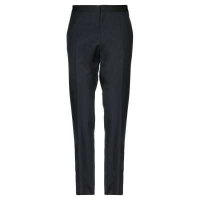 VERSACE パンツ ブラック 46 ウール 100% / ポリエステル パンツ