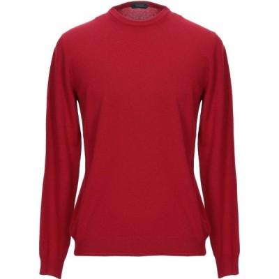 ザノーネ ZANONE メンズ ニット・セーター トップス cashmere blend Red