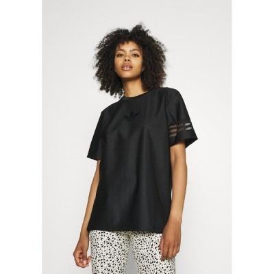 アディダスオリジナルス Tシャツ レディース トップス Basic T-shirt - black