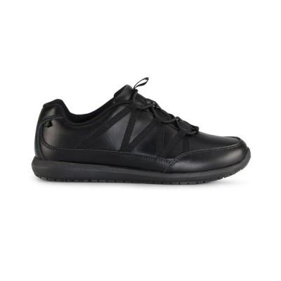 エメリルラガッセ スニーカー シューズ レディース Women's Miro Ez-Fit Slip-Resistant Sneakers Black