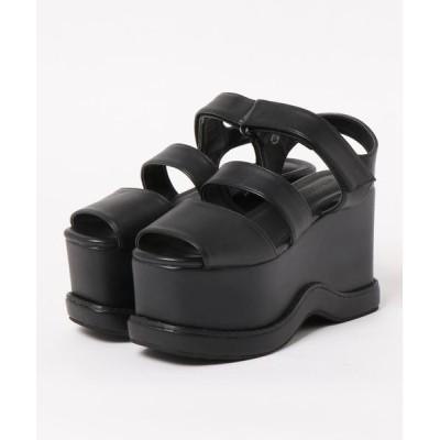 Parade ワシントン靴店 / 【超厚底】ストラップ 3本ベルトサンダル 803 WOMEN シューズ > サンダル