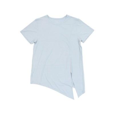 ウィッテム(HUITIEME) フィットネス スラブ チュニックTシャツ HU20SDSK821004LBLU オンライン価格 (レディース)