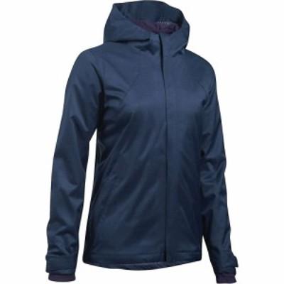 アンダーアーマー Under Armour レディース ジャケット アウター UA ColdGear Infrared Sienna 3-In-1 Jacket Midnight Navy/Premier Pur