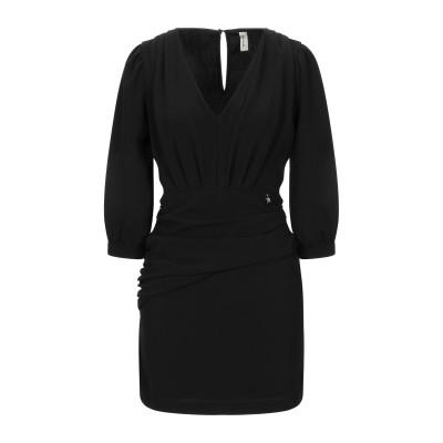 スーベニア SOUVENIR ミニワンピース&ドレス ブラック S ポリエステル 100% ミニワンピース&ドレス