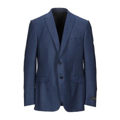エルメネジルド ゼニア ERMENEGILDO ZEGNA テーラードジャケット ブルー 56 ウール 95% / シルク 5% / コットン /