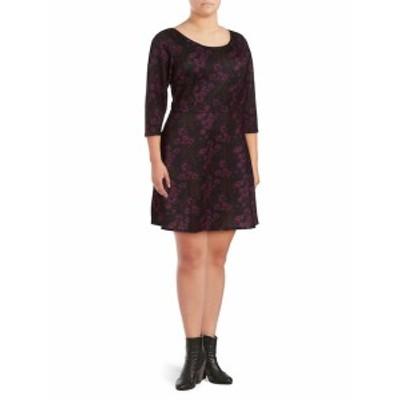アレクシアアドモール レディース ワンピース Floral Fit-&-Flare Dress