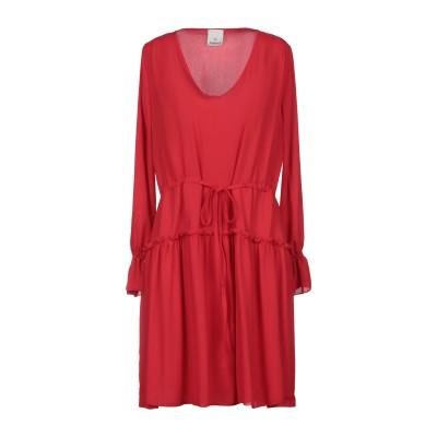 ANISYA® IS ミニワンピース&ドレス レッド M ポリエステル 100% ミニワンピース&ドレス
