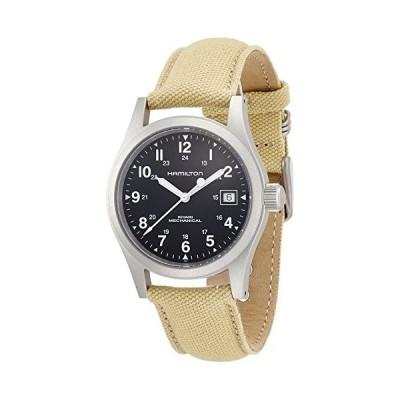 腕時計 ハミルトン メンズ H69419933 Hamilton Men's H69419933 Khaki Field Black Dial Watch
