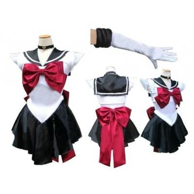コスプレ衣装 美少女戦士 セーラー 冥王 せつな プルート コスチュームAK030F/代引不可