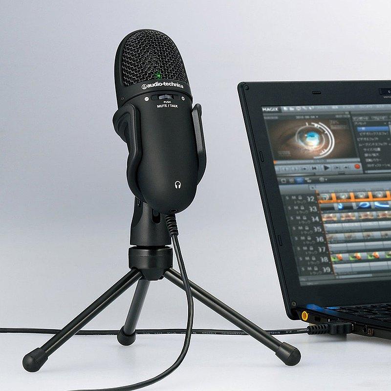 鐵三角│AT9934USB 高性能收音USB麥克風