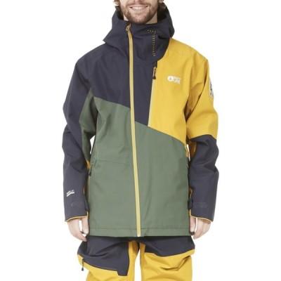 ピクチャー オーガニック Picture Organic メンズ スキー・スノーボード ジャケット アウター Alpin Snow Jacket Lychen Green