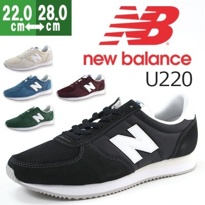 ニューバランス スニーカー メンズ レディース ローカット おしゃれ ランニング スリム New Balance U220